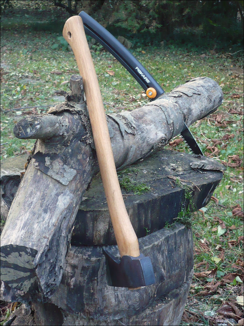 Billot Bois Pour Fendre Buches : Wetterlings Large Hunting Axe – Hache – www.pyrene-bushcraft.com [Test